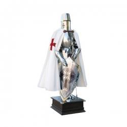 Rytířská Zbroj Templářská s Křížem
