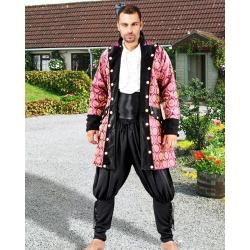 Pirátský kostým-Kabát Brokátový