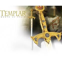 Meč Templářský Zlatý