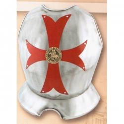 Kyrys templářský-Kříž červený