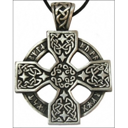 Keltský kříž-Runy