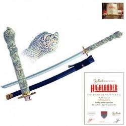 Connor MacLeod Katana-Meč Highlander Licence