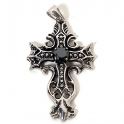 Gothic Přívěsek Black Cross