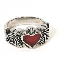 Gothic Prsten Srdce