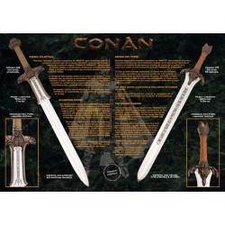 Conan Father Sword Silver