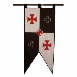 Prapor Templáři Kříže