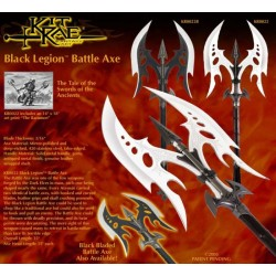 Kit Rae Black Legion Battle Axe Black