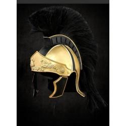 Řecko Římská Helma Černý Chochol