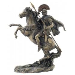 Soška Římský Centurion na Koni