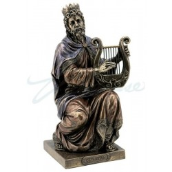 Král David s Lyrou