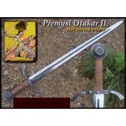 Meč Přemysl Otakar II