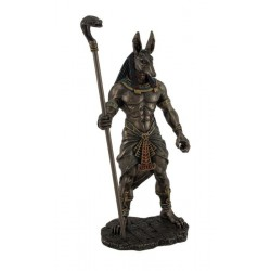 Soška Anubis s kobrou