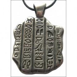 Rosettská Deska-Egypský přívěsek