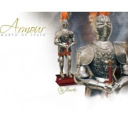 Rytířská Zbroj-Luxusní Španělská Zbroj 16. Století