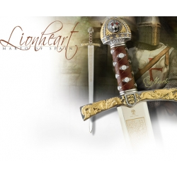 Meč Král Richard I. Lví Srdce Deluxe Marto