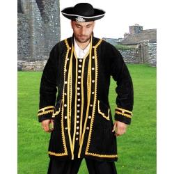 Pirátský kostým-Kabát Peter