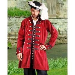 Pirátský kostým-Kabát Benjamin