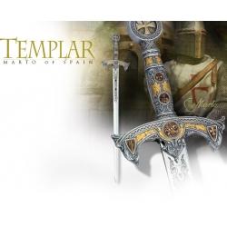 Meč Templářský Stříbrný