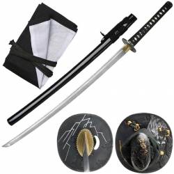 Raijin Katana Thunder God Black