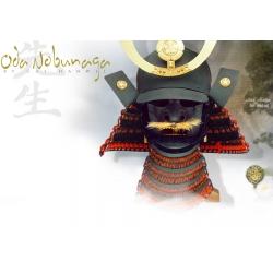 Samurajská Helma Oda Nobunaga
