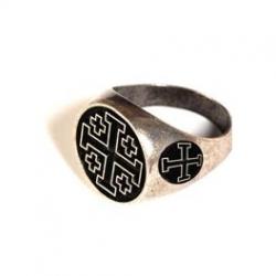 Prsten Templářů Černý