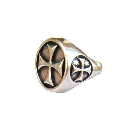 Prsten Templářů Stříbrný