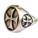 Prsten Templářů s Křížem