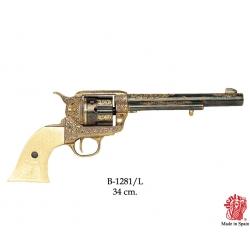 Revolver Colt US Kavalérie 1873 Gold