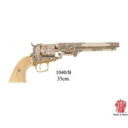 Revolver Colt US Navy 1851 Slonovina