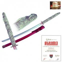 Duncan MacLeod Katana-Meč Highlander Licence