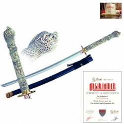 Connor MacLeod Katana-Meč Highlander Licence