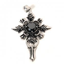 Gothic Přívěsek Cross