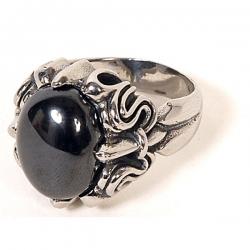 Gothic Prsten Black