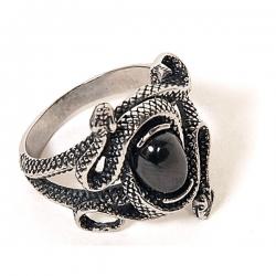 Gothic Prsten Black Snake