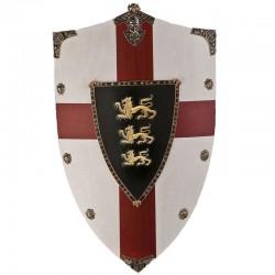 Štít Richard Lví Srdce Kříž