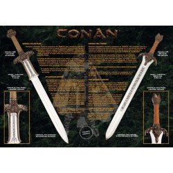 Conan Father Sword Silver