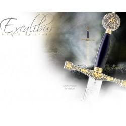 Excalibur-Meč Krále Artuše Zlatý a Stříbrný