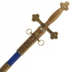 Zednářský meč 18. století