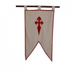 Prapor Řádu Svatojakubských Rytířů