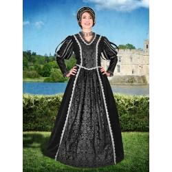 Renesanční Šaty Černé Tudorovci