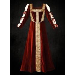 Renesanční Šaty Red Velvet