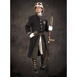 Steampunk Koloniální Kabát