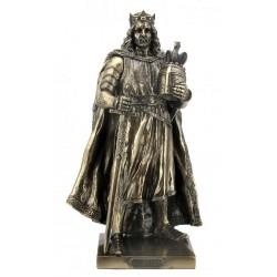 Král Artuš Soška