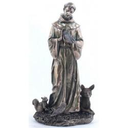 František z Assisi Soška