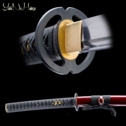 Musashi Katana samurajský meč YNH Red