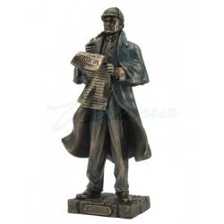 Sherlock Holmes Soška