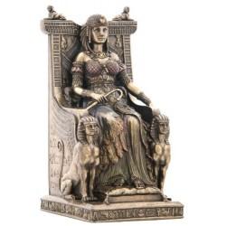 Nefertiti a Trůn Soška