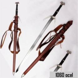 Meč Zaklínač Stříbrný Funkční