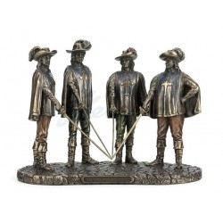 Tři Mušketýři soška