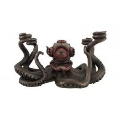 Mechanická chobotnice Steampunk soška
